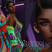 @2188~The Surreal Lyfe featuring:: TRADITIONAL FACE - HOPE SKIN