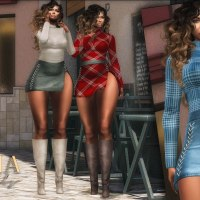 @2222~The Surreal Lyfe featuring:: Seniha. Katrina Set & Boots @SAD NOVEMBER